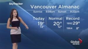 BC Evening Weather Forecast: Jun 25