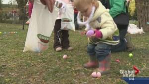 Kids hopping into Easter fun
