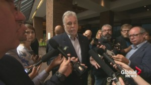 Quebec Premier defends his party