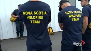Nova Scotia firefighters off to B.C. to battle wildfires