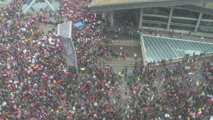 Vancouver Women's March draws thousands