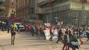Students march against austerity