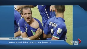 What punishment should FIFA hand down to Luis Suarez?