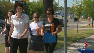 Federal election campaign begins for battleground YYC