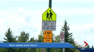 New school and playground zones hours