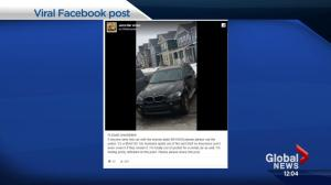 Stolen SUV recovered via Facebook