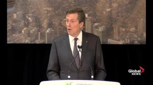 John Tory looking to implement a hotel tax