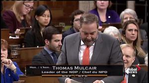 Mulcair blasts Liberal government over signing of TPP