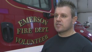 RAW: Emerson fire chief breaks down morning call to rescue 17 asylum seekers