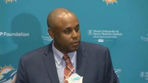 Miami Dolphins GM happy with taking Tunsil at pick #13