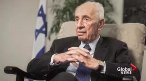 Shimon Peres, former Israeli president, dies at 93