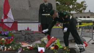 Canadians flock to cenotaphs to pay respect to fallen soldiers