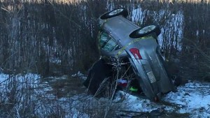 Man survives after being trapped in vehicle overnight