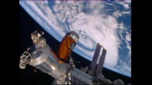 Supply ship docks with ISS ahead of schedule