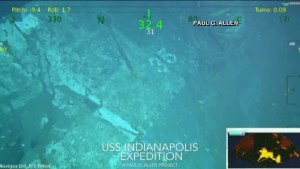 Civilian researchers find missing World War II heavy cruiser