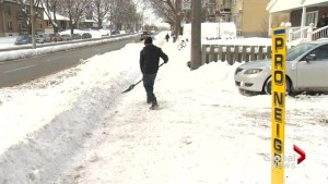 Snow removal scam