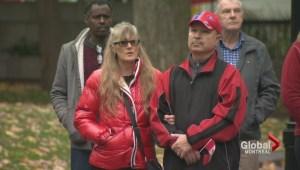 Montrealers host vigil for Cirillo, Vincent