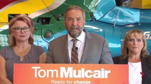 Mulcair revels in chance to criticize Harper for alleged 'lies' tied to expense scandal