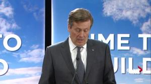 Tory adamant he will not raise property taxes, privatize Toronto Hydro