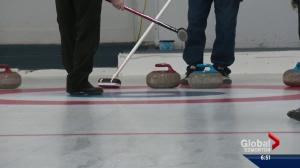 Highway 13 Old-Stars curling team