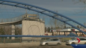 Shaganappi Trail pedestrian bridge delayed