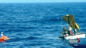 Edmonton woman's cruise turns into rescue mission
