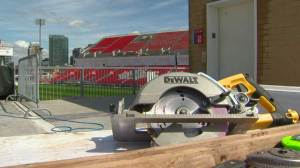 BMO Field renovations delayed, over budget