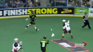 Saskatchewan Rush defeat Colorado Mammoth 8-7 in battle of the west