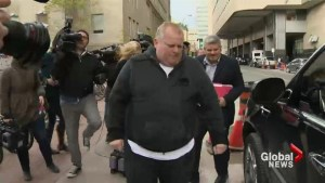 Rob Ford discusses newly-diagnosed tumour
