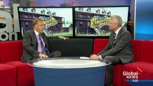 Doug Goss on Fort Edmonton expansion