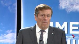 If you're against tolls, explain how you'd pay for transit: John Tory