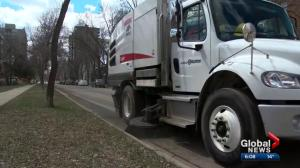 Calls for Edmonton to prioritize pedestrian hot spots when it comes to spring cleaning
