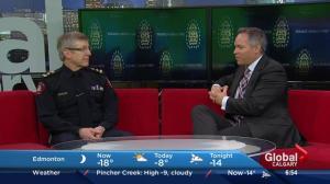 Chief Rick Hanson retires