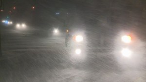 Snow squall warning in effect for parts of Southern Ontario