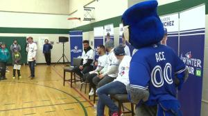 Toronto Blue Jays visit Edmonton