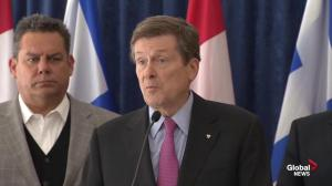 Mayor Tory announces funds for poverty reduction strategy