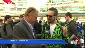 Toronto hosts annual 420 rally to legalize marijuana