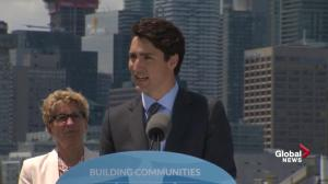 Trudeau announces Portland Flood Protection Project is 'a reality'