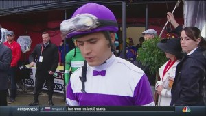 Mario Gutierrez supporters disappointed at Preakness loss