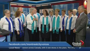 Montreal City Voices' Christmas show