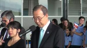 Ban Ki-moon calls attack on UN school in Gaza 'unjustifiable'