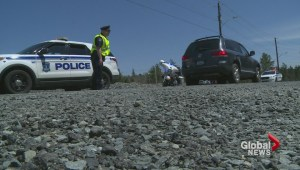 Police out in full force over the long weekend