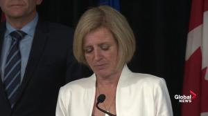 Rachel Notley discusses evacuee situation and announces re-entry plan for Fort McMurray