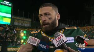 'We came out with a bang': Edmonton Eskimos headed to the Grey Cup