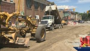 Downtown Kelowna merchants feeling construction pain