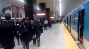 Montreal Metro delays
