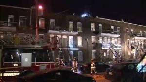 Verdun fire leaves six families homeless