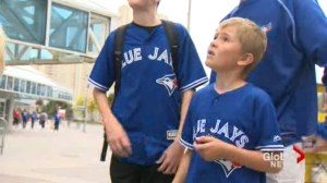 Alberta boy who lost leg in accident given trip to see the Toronto Blue Jays