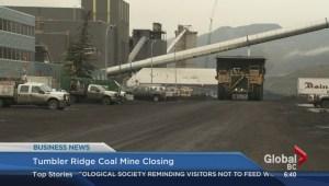 BIV: Tumbler Ridge coal mine closing