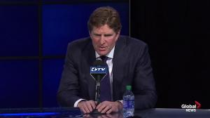 Mike Babcock explains why he picked the Maple Leafs